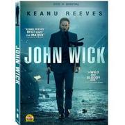 John Wick (DVD + Digital Copy) (With INSTAWATCH) (Widescreen) by