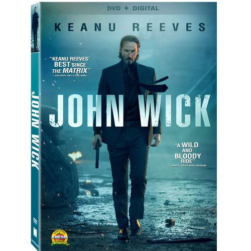 John Wick (DVD + Digital Copy) (With INSTAWATCH) (Widescreen)
