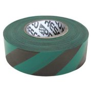 PRESCO PRODUCTS CO SGBK-200 Flagging Tape,Green/Blk,300ft x 1-3/8In