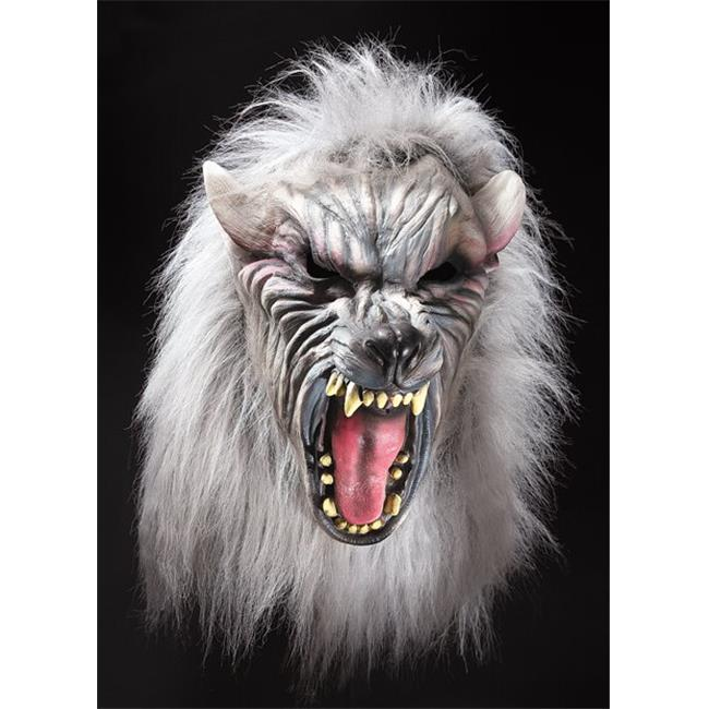 Silver Wolf With Hair Mask - image 1 de 1