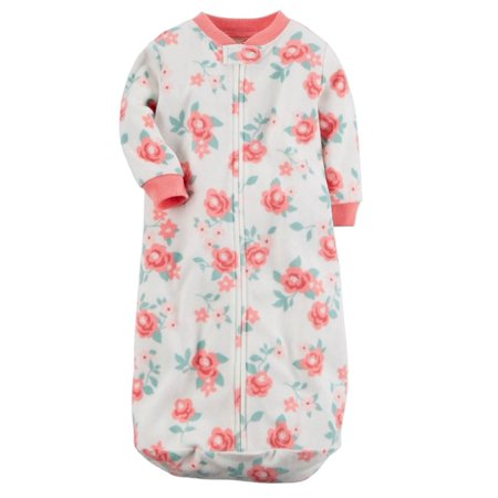 Carters Carters Infant Girls White Amp Pink Floral Rose