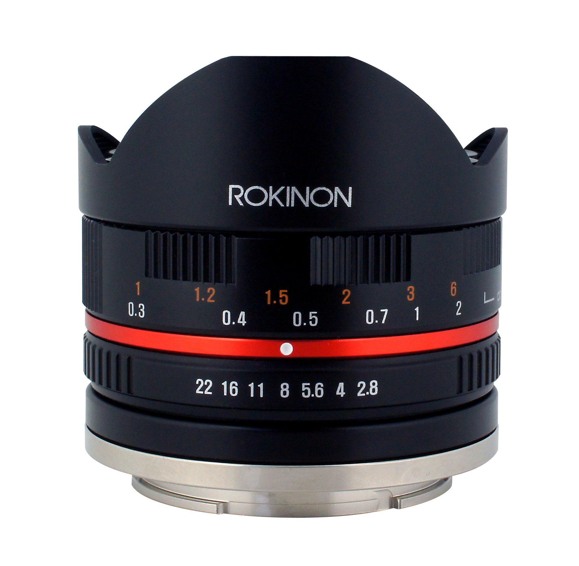 ROKINON RK8MBK28-M Series II 8mm f/2.8 Fisheye Lens