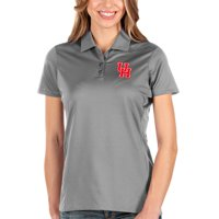 Houston Cougars Antigua Women's Balance Polo - Charcoal