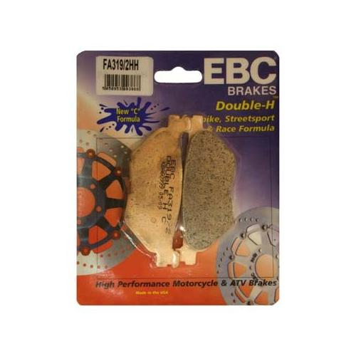 EBC Double-H Sintered Brake Pads Rear Fits 09-12 Yamaha Vmax 1700 VMX1700