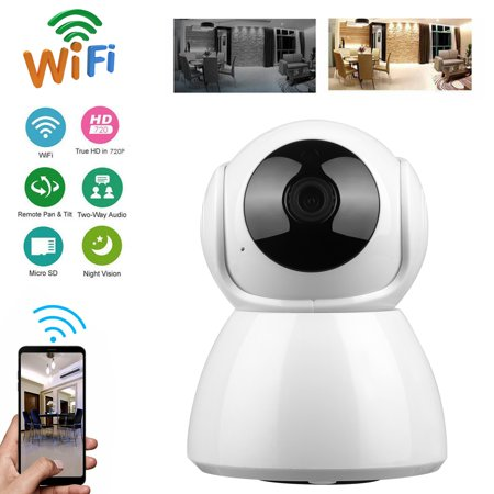 EEEkit WiFi IP Camera 720P Wireless Security Camera Indoor Home IP Camera  Baby Pet Monitor Indoor Dome Camera with Night Vision(6Pcs IR LED),2-Way