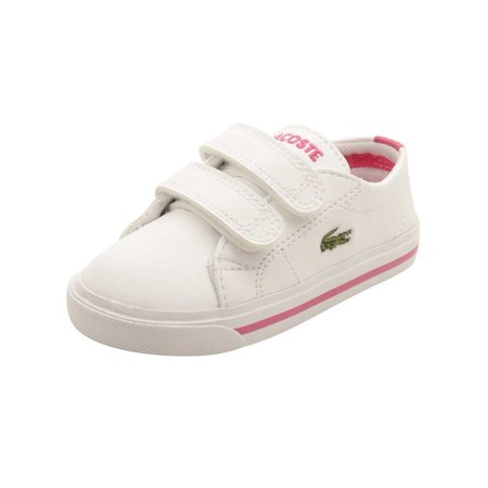 364b46ba96309a Lacoste Infant Marcel 117 Sneakers in White Pink - Walmart.com