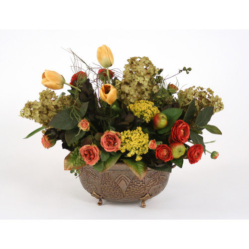 Distinctive Designs Silk Mix in Planter