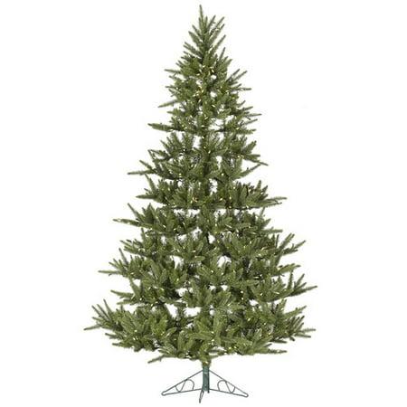 Half christmas tree prelit musical
