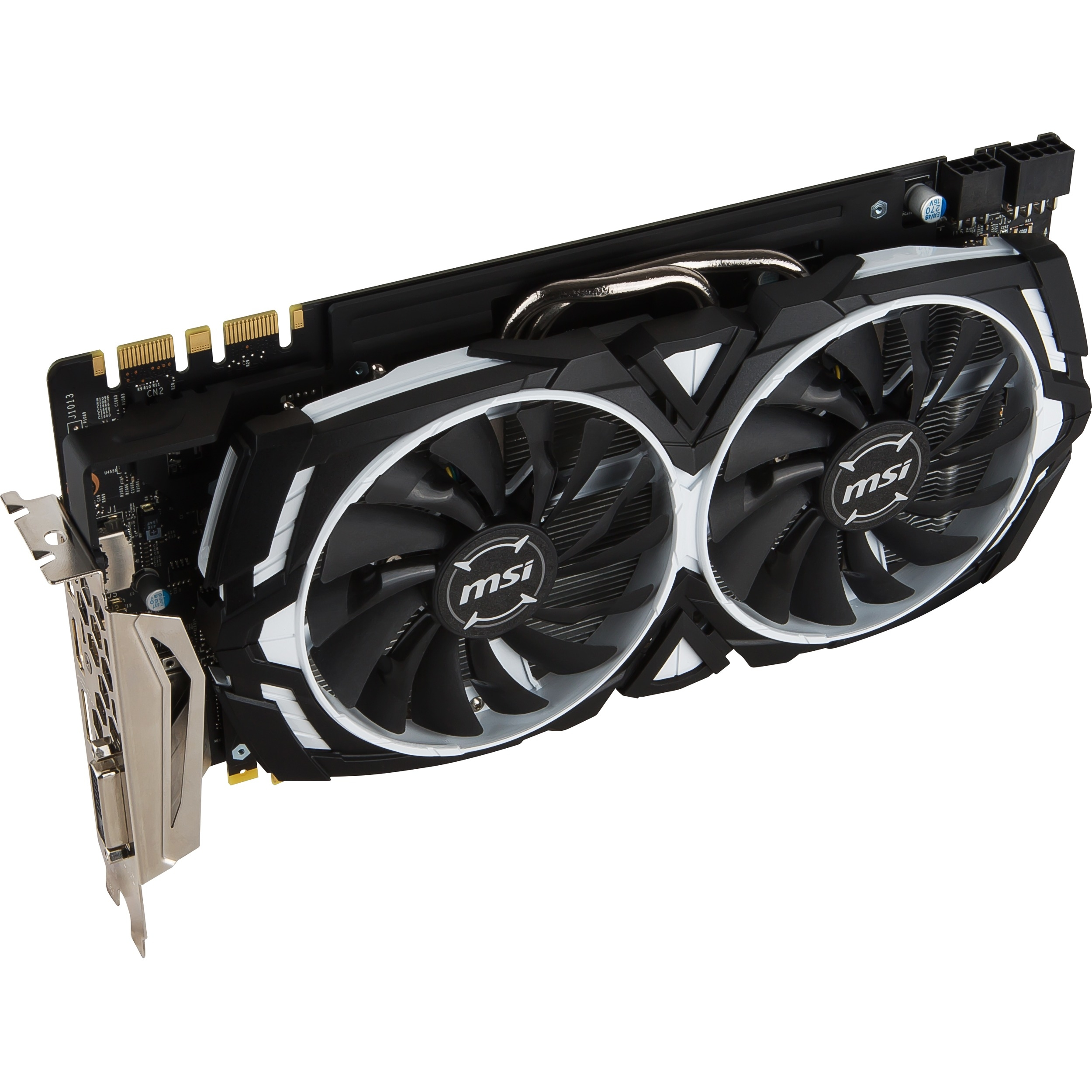 MSI GeForce GTX 1080 Armor 8GB GDDR5X PCI Express 3.0 Graphics Card