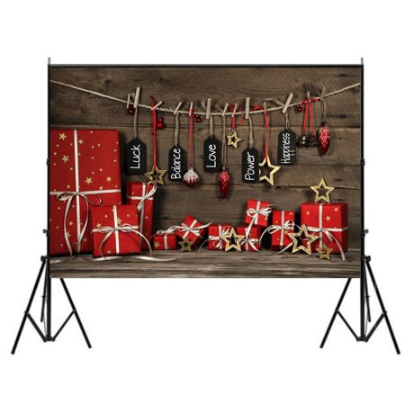 ABPHOTO Polyester Christmas Photo Backdrops,Merry Christmas Theme Background Photography Backdrop Studio Props Best for Studio, Club, Event or Home Photography (Americas Best Event Photography)
