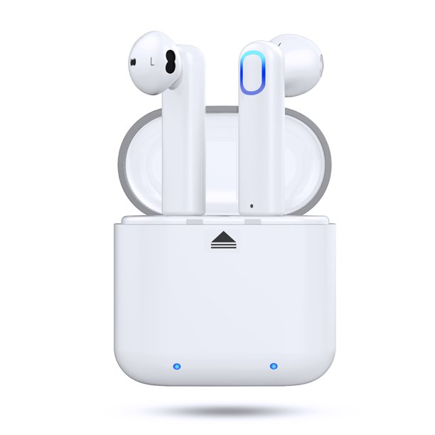 Bluetooth 5 0 Wireless Stereo Earbuds Headphones Noise Cancelling With Built In Mic And Charging Case Hands Free Calling Sweatproof In Ear Headset Earphone Earpiece For Iphone Android Smart Phones Walmart Com Walmart Com