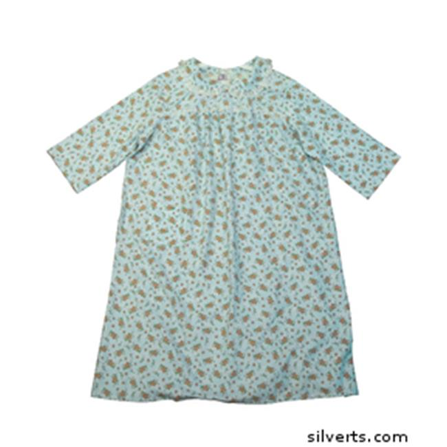 Silverts 262210105 Womens Patient Hospital Flannel Adapti...