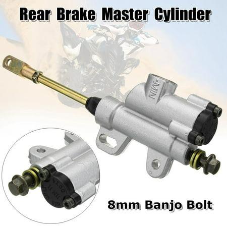 8mm Hydraulic Rear Brake Master Cylinder For 50cc 110cc 125cc Pit Dirt Bike ATV