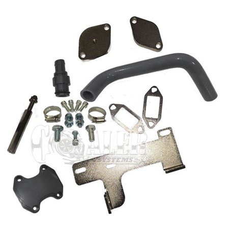 2011 EGR Valve Delete Kit Diesel Dodge Ram Cummins 6.7L Turbo valve (Best Egr Delete Kit For 6.7 Cummins)