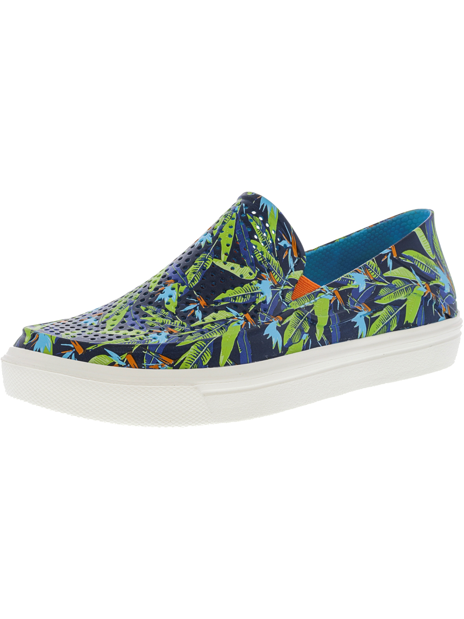 Crocs Citilane Roka Graphic Multi-Color Blue Ankle-High Flat Shoe 2M by Crocs
