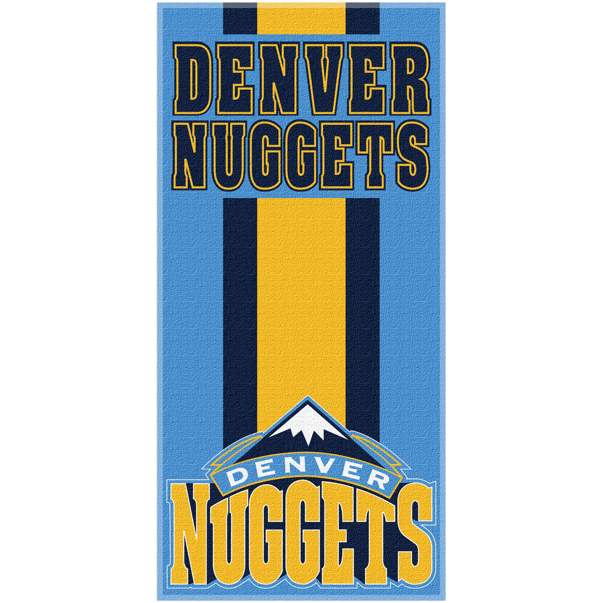 Denver Nuggets The Northwest Company Zone Read Beach Towel - No Size