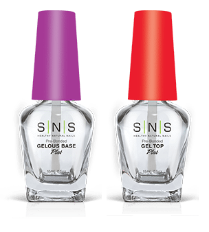 SNS Nail Prep for Dipping Powder - Gelous Base + Gel Top 2ct