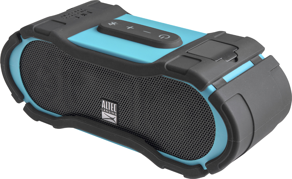 Altec Lansing Boom Jacket 2 Portable Wireless Speaker Aqua Blue IMW579 by Altec Lancing