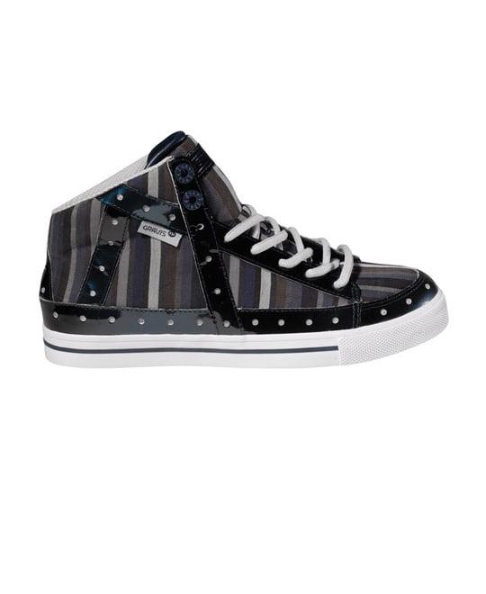 Gravis Gemini Hi Skate Shoes Dress Blue