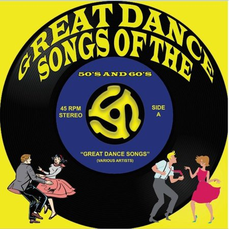 Great Dance Songs Of The 50's & 60's (Various Artists) - Halloween Dance Songs