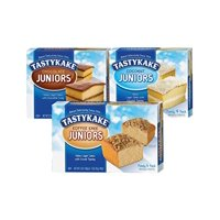 Tastykake Chocolate, Coconut and Koffee Kake Juniors Family Size Variety Pack- A Philadelphia Baking Institution (Variety, 3 Pack)