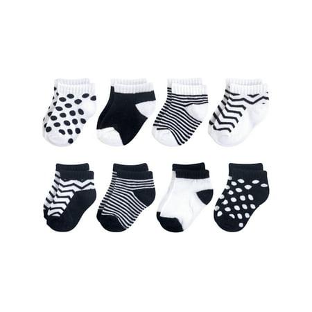 No Show Sock 8pk (Baby Girls)