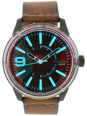 Diesel Men's Rasp DZ1876 Brown Leather Japanese Quartz Fashion Watch