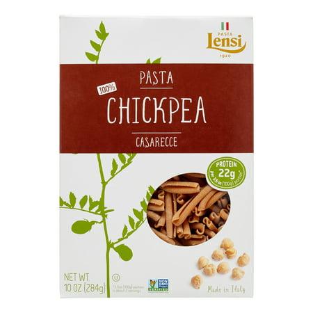 (2 pack) Lensi 100% Chickpea Casarecce Pasta, 10 oz ()