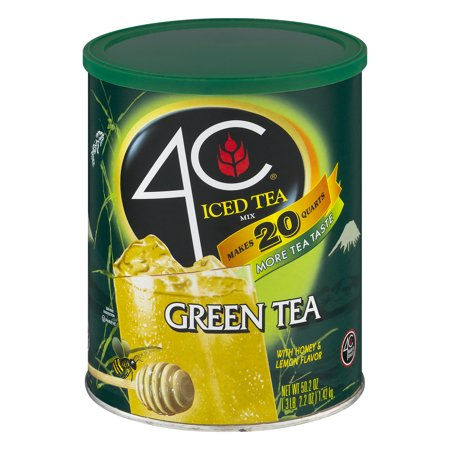 4C Drink Mix, Green Tea, 50.2 Oz, 1 Count