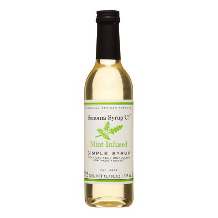Sonoma Syrup Mint Infused Simple Syrup, 12.7 Fl Oz