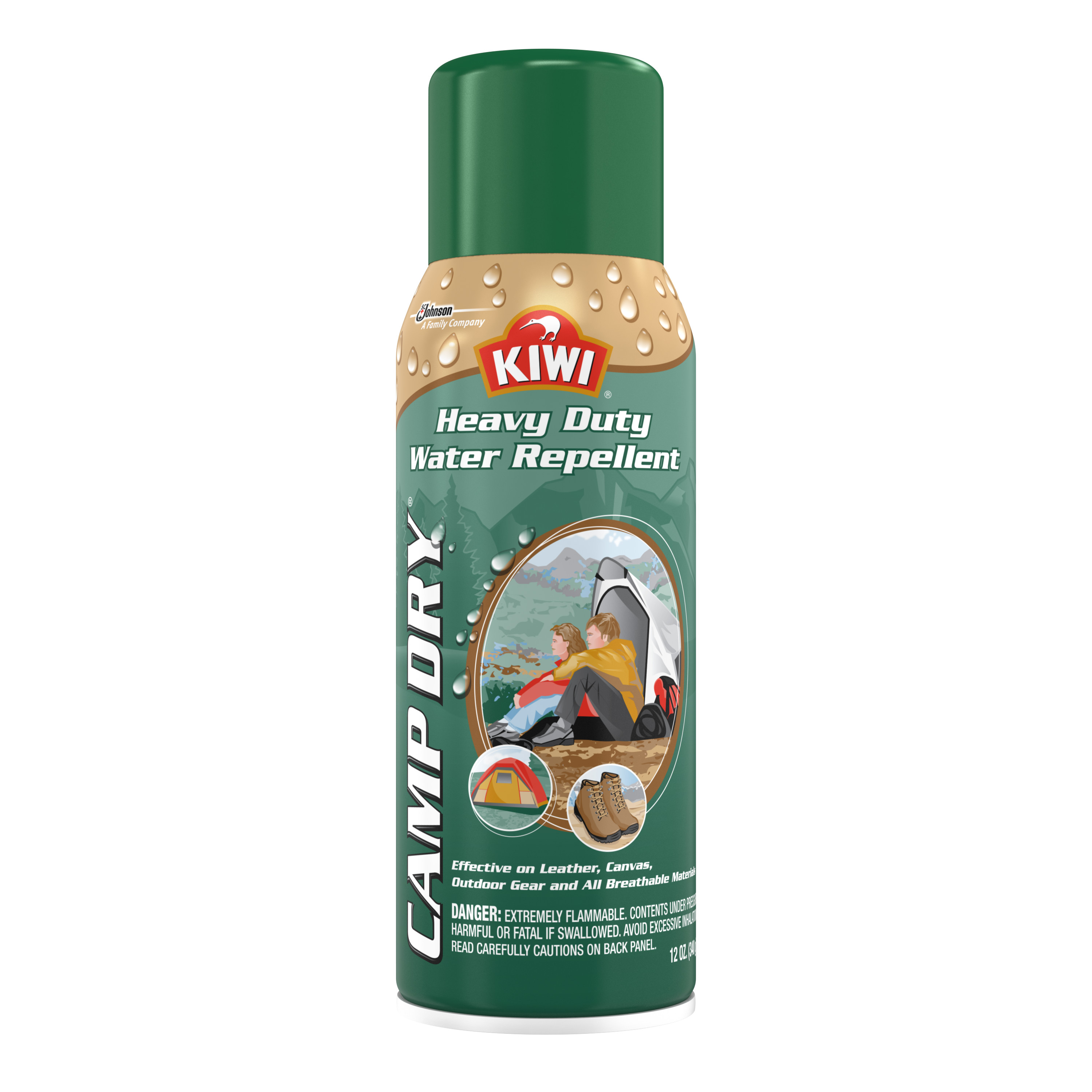 KIWI Camp Dry Heavy Duty Water Repellent 12 Ounces