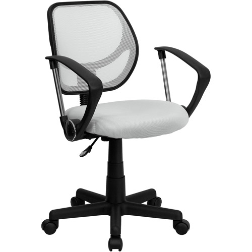 Mesh Computer Chair with Arms, Multiple Colors