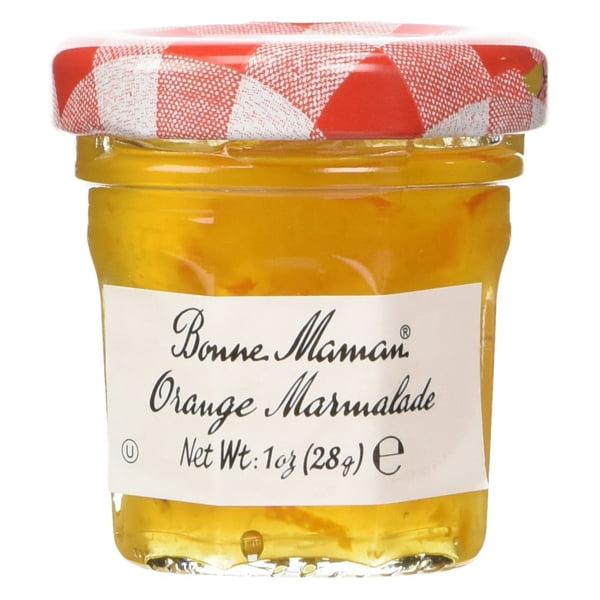 Bonne Maman Orange Marmalade 1 oz Jars Pack of 4 by