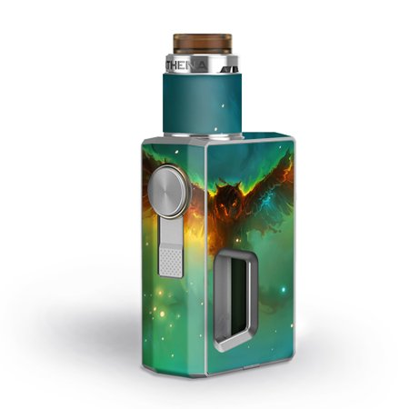 Skins Decals for GeekVape Athena Squonk Vape / Flying Owl in Clouds