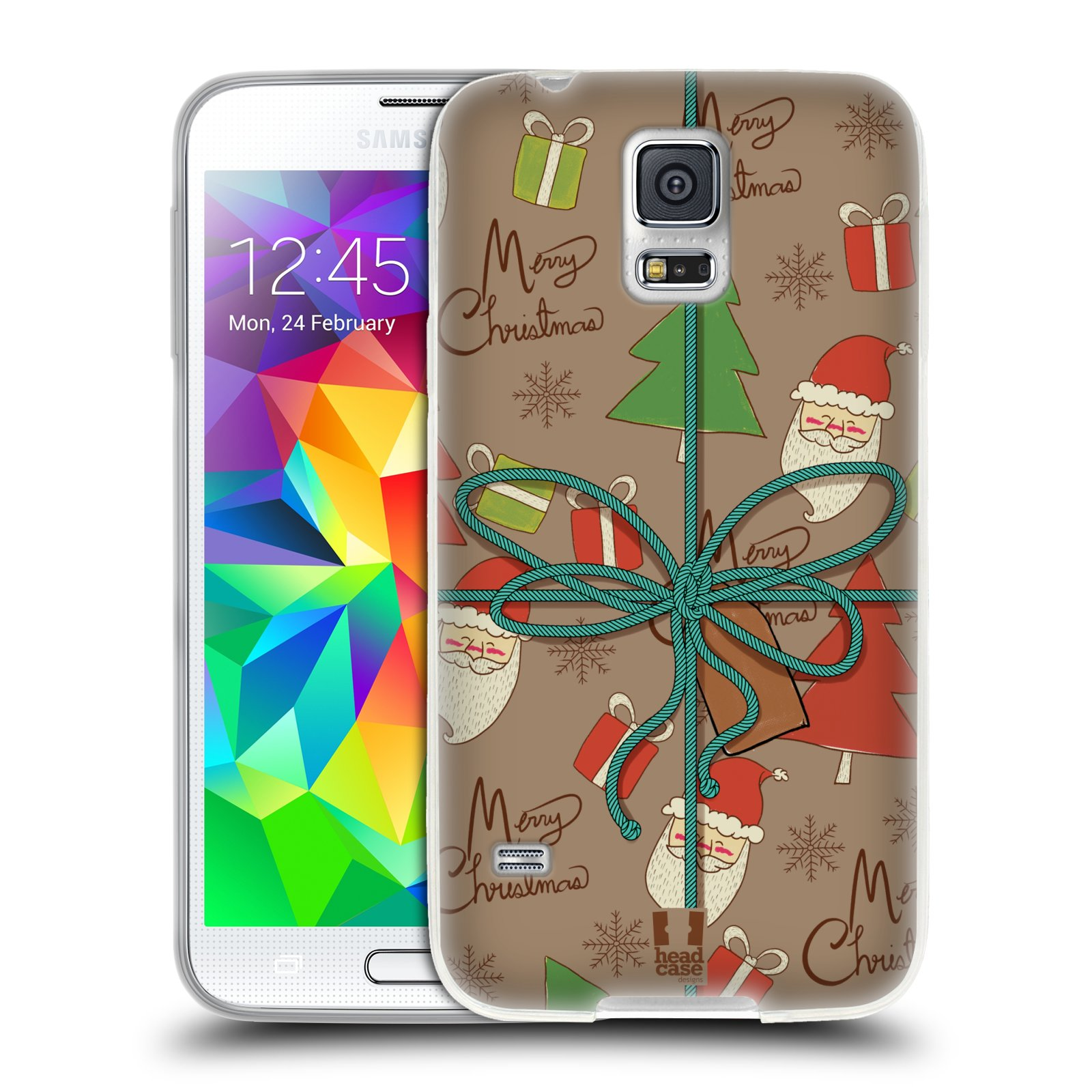 HEAD CASE DESIGNS CHRISTMAS GIFTS SOFT GEL CASE FOR SAMSUNG PHONES 1