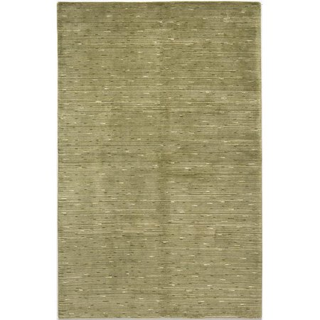 Due Process Stable Trading Nouveau Shimmer Green Area Rug, 12 x 15 ft. ()