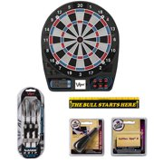 Viper 777 Electronic Dartboard with Sure Grip Soft Tip Darts and Accessory Set