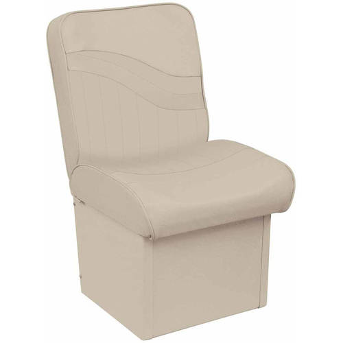 Wise 8WD1131-710 Weekender Series White Fish-N-Ski Run-A-Bout Boat Seat by The Wise Company