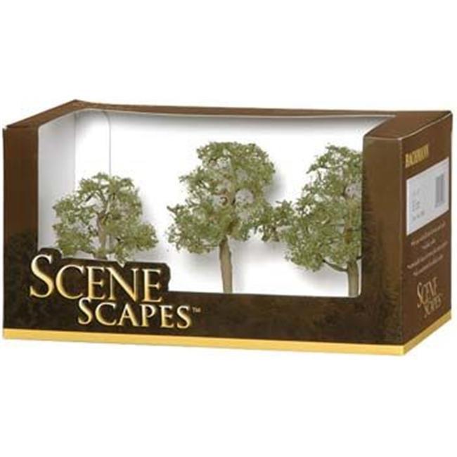 Bachmann BAC32008 3 inch- 4 inch Elm Trees - 3