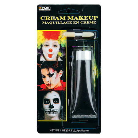 Professional Black Cream Make-Up Kit for Halloween - Making Halloween Makeup Stay