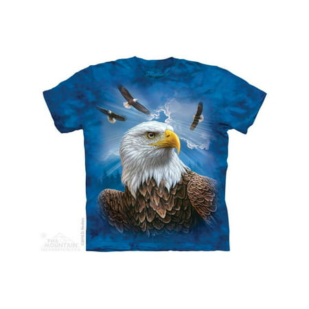 The Mountain Guardian Eagle Adult T-Shirt Tee
