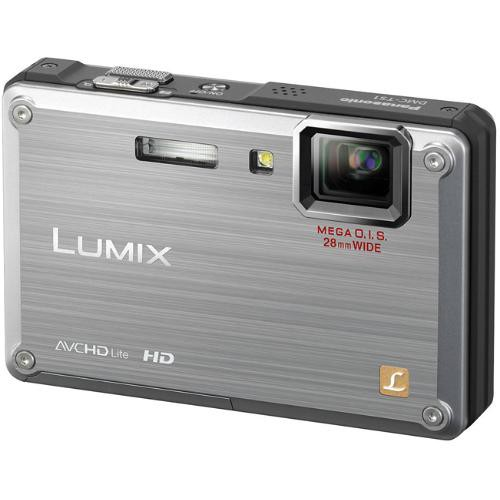 Panasonic Lumix DMC-TS1 Digital Camera (Silver) (Certified Refurbished)