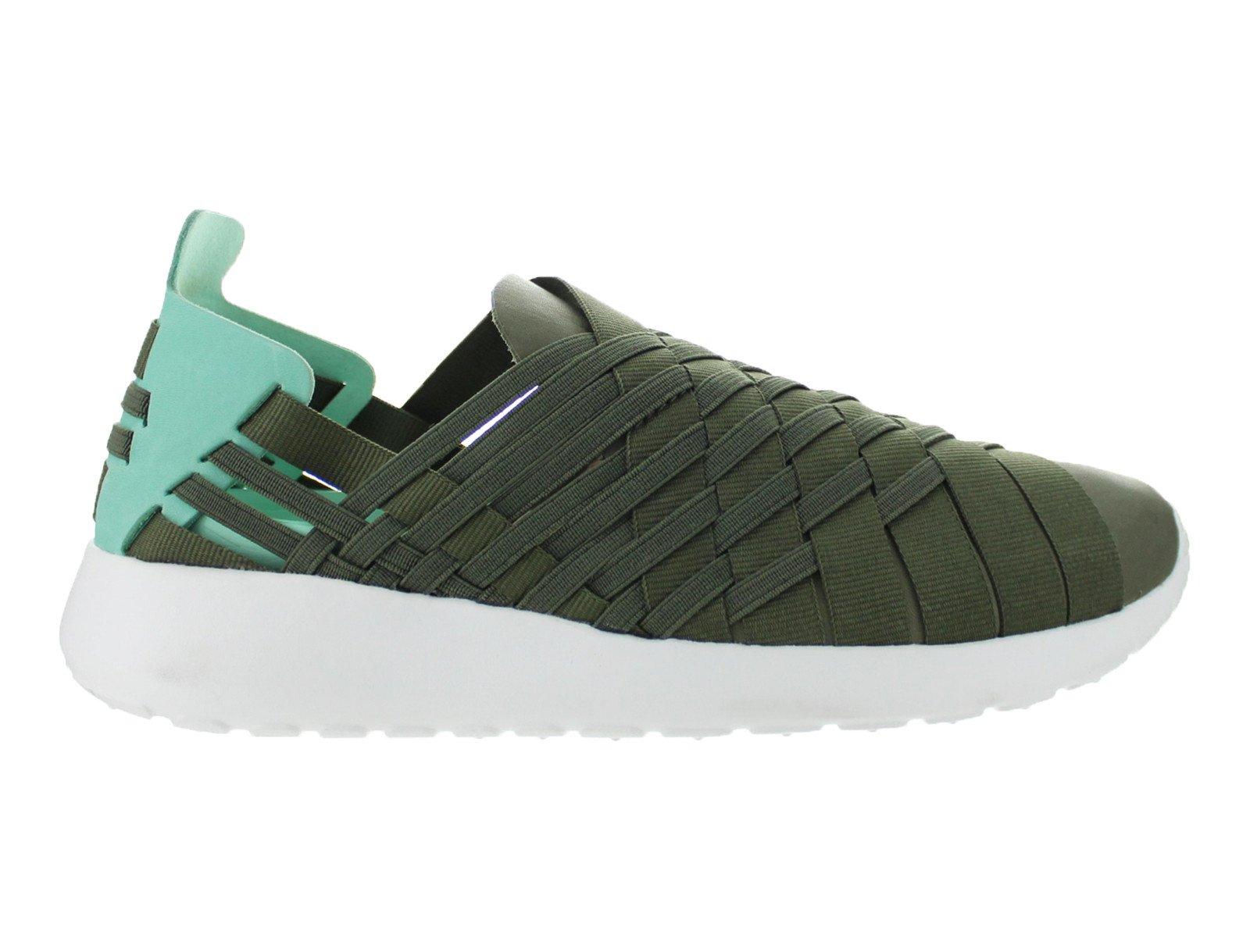 Womens Nike Rosherun Woven 2.0 Iron Green Cargo Khaki Medium Mint Summ