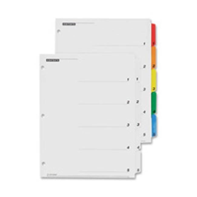 Cardinal Brands- Inc CRD61013CB One Step Index System- Numbered 1-10- 10 Tabs- Clear - image 1 of 1