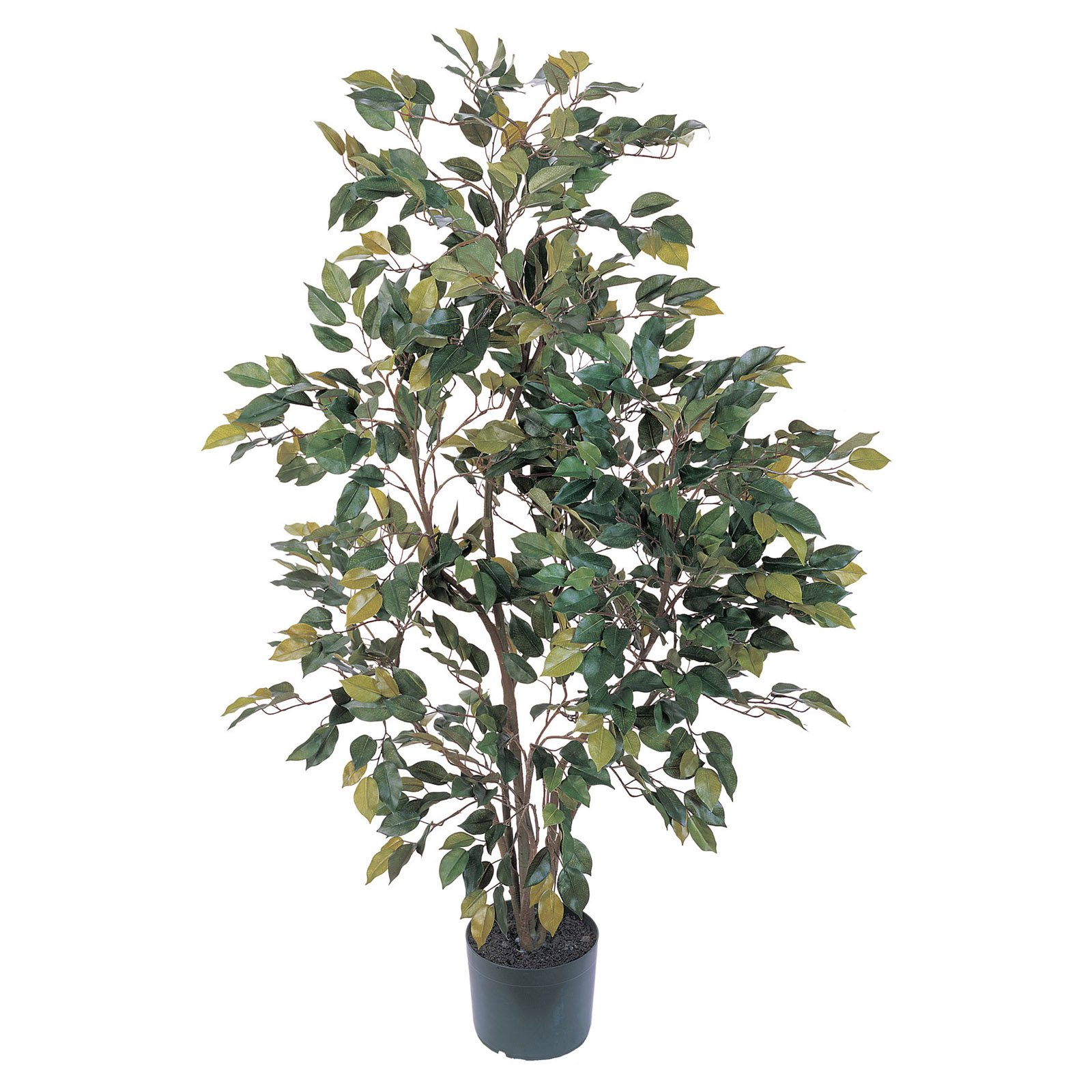 Nearly Natural 4 ft. Ficus Silk Tree