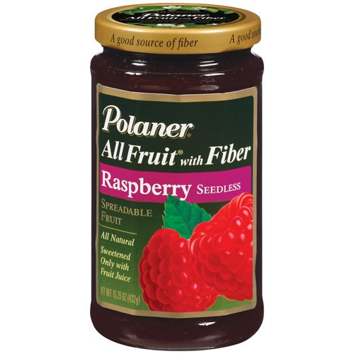 Polaner All Fruit Raspberry Seedless Fruit Spread, 15.25 oz