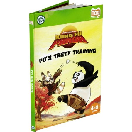 leapfrog tag activity storybook kung fu panda: po's tasty training Kung Fu Boots