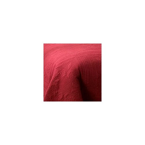 PEM America French Tile Throw in Deep Red