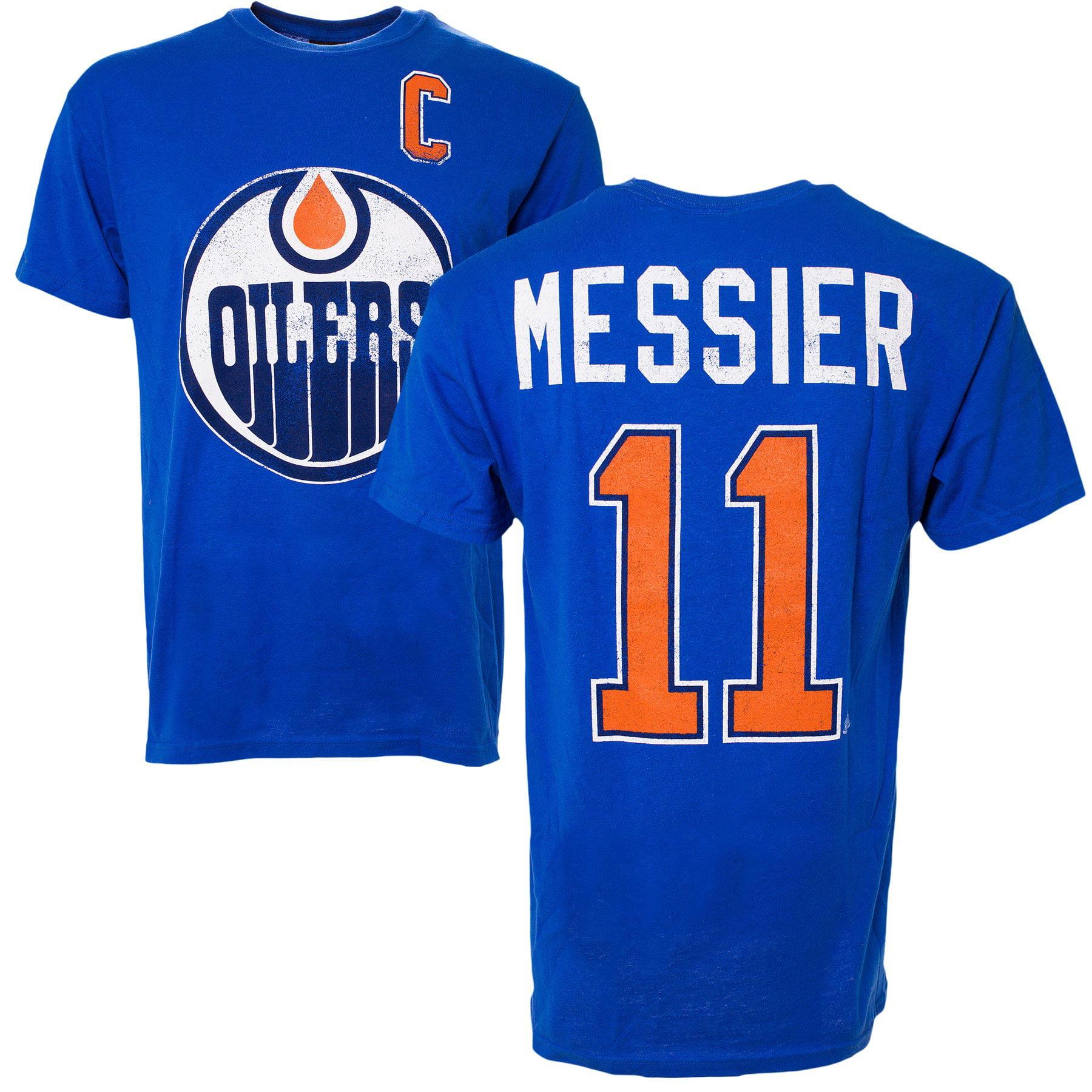 a4339510af7bb Edmonton Oilers Mark Messier Vintage NHL Alumni T-Shirt - Old Time Hockey |  Walmart Canada