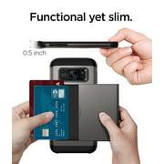 buy online 9050a cd047 Spigen Slim Armor CS Galaxy S7 Edge Case with Slim Dual Layer Wallet ...